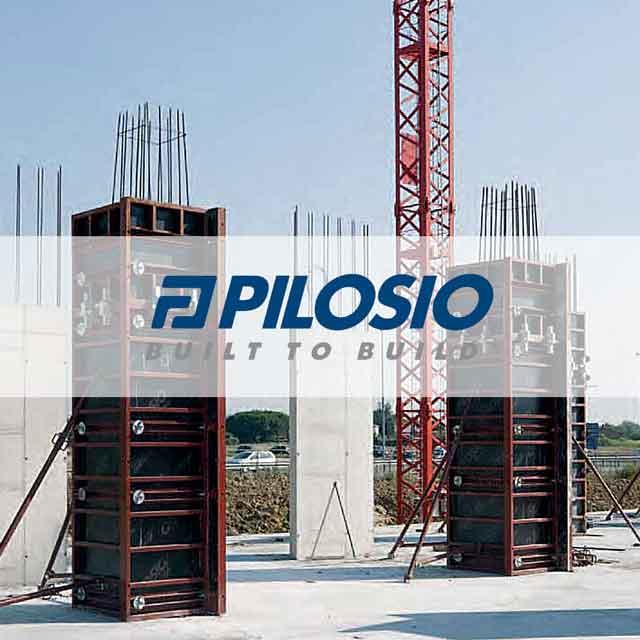Строительная стеновая опалубка Pilosio
